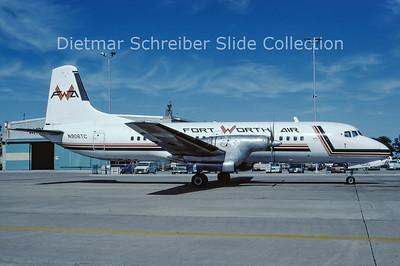 1985-10 N906TC NAMC YS11A-213 (c/n 2154) Fort Worth Air