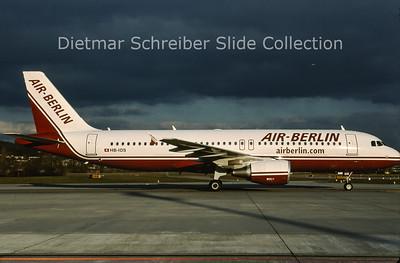 2009-04 HB-IOS Airbus A320-214 (c/n 2968) Air Berlin