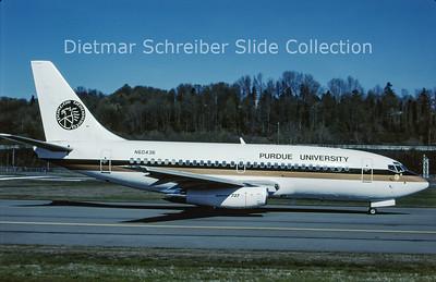 N60436 Boeing 737-3U3 (c/n 28742) Purdue University