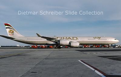 2009-04 A6-EHI Airbus A340-541 (c/n 929) Etihad Airways