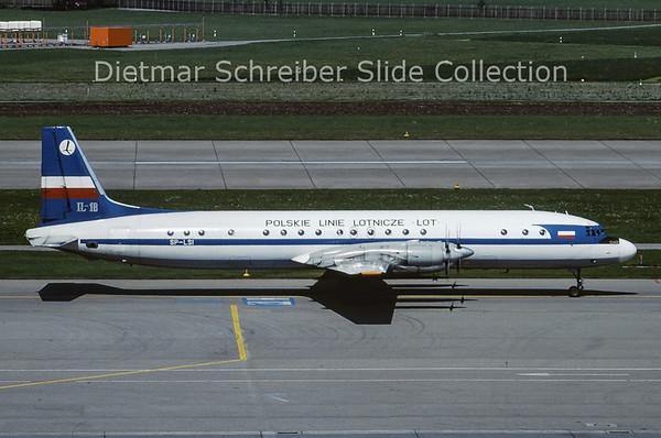 SP-LSI Ilyushin 18 (c/n 186008905) LOT Polish Airlines