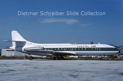 1989-05 EL-AIW Sud Aviation Caravelle 6N (c/n 106) Coastal - LWA