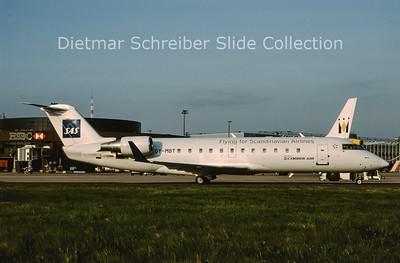 2009-04 OY-MBT Bombardier Regionaljet 200ER (c/n 7617) Cimber Air