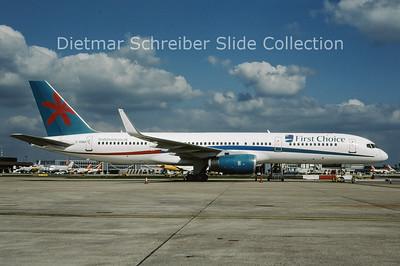 2009-04 G-OOBA Boeing 757-28A WL (c/n 32446) First Choice
