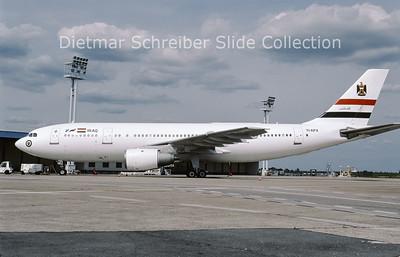 2009-05 YI-APX Airbus A300B4-2C (c/n 239) Iraqi Government