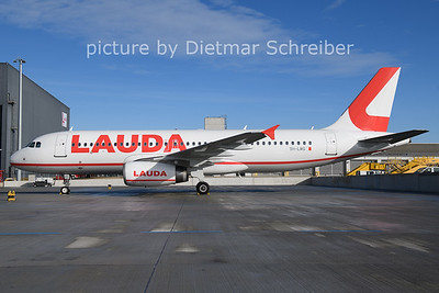 2021-01-24 9H-LMG AIrbus A320 Lauda Europe