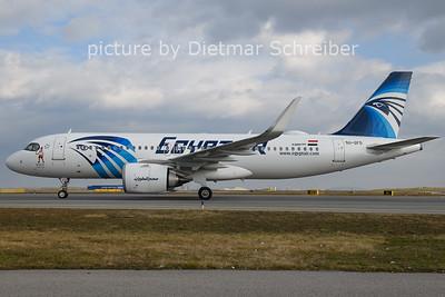 2021-01-26 SU-GFO Airbus A320neo Egypt AIr