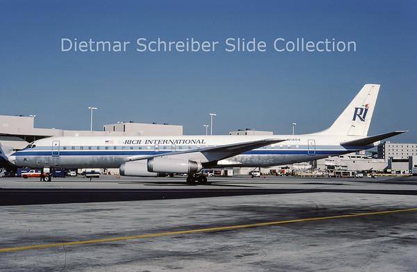 1987-04 N1804 Douglas DC8-62F (c/n 45896) Rich International