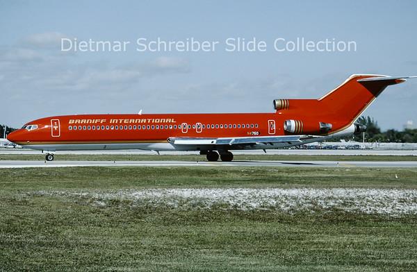 1992-01 N4750 Boeing 727-235 (c/n 19470) Braniff