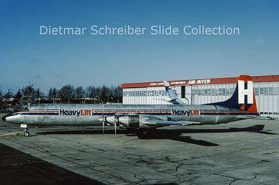 1990-02 EI-BRP Canadair CL44J (c/n 35) Heavylift