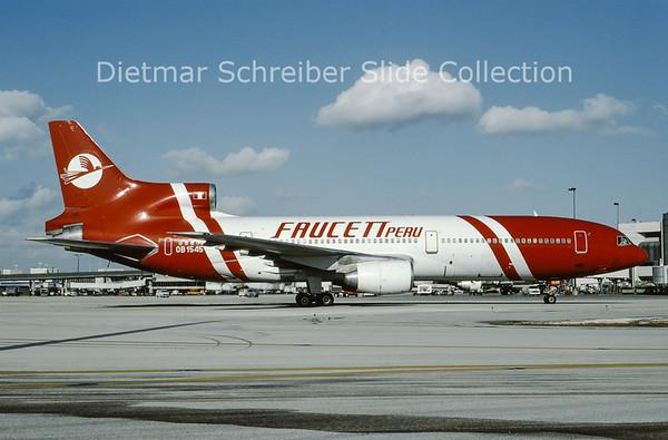1994-01 OB-1545 Lockheed L1011-50 Tristar (c/n 1075) Faucett Peru