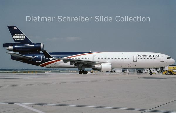 2009-07 N272WA MDD MD11 (c/n 48437) World Airways