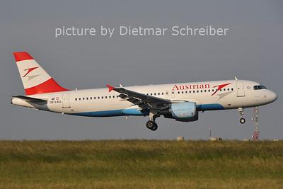 2011-05-31 OE-LBQ Airbus A320 Austrian AIrlines