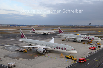 2021-01-31 A7-BHC Boeing 787-9 Qatar Airways