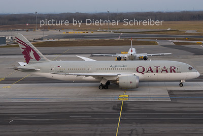 2021-01-31 A7-BCF Boeing 787-8 Qatar Airways