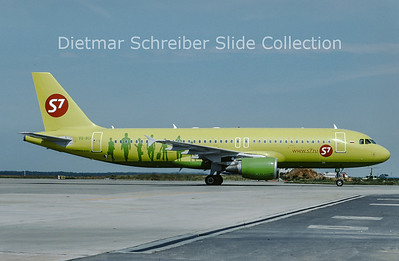 2009-07 VQ-BCI Airbus A320-214 (c/n 2623) S7 AIrlines