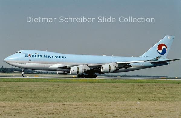 2009-08 HL7437 Boeing 747-4B5F (c/n 32808) Korean Air