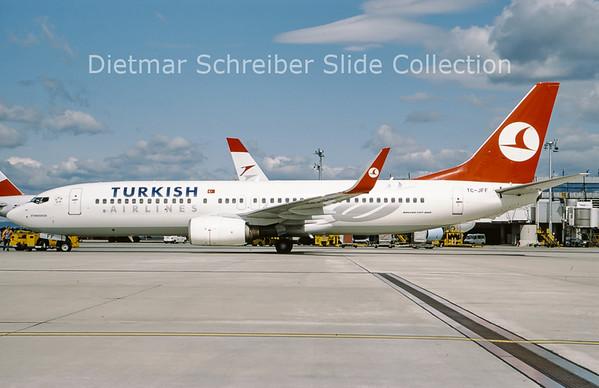2009-07 TC-JFF Boeing 737-8F2 Winglets (c/n 29768) Turkish AIrlines