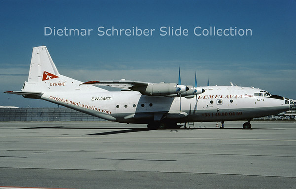 2009-05 EW-245TI Antonov 12 (c/n 6344608) Gomelavia