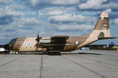 2009-04 345 Lockheed C130H Hercules (c/n 4813) Jordanian Air Force