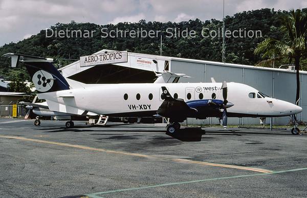 2009-03 VH-XDY Beech 1900D (c/n UE-396) West Wing Aviation
