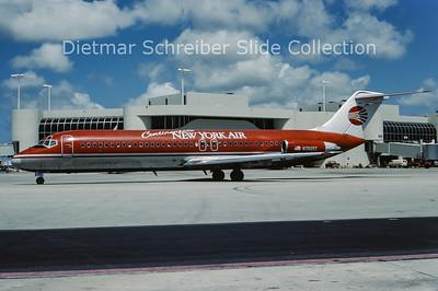 1987-06 N3505T Douglas DC9-32 (c/n 45788) New York Air