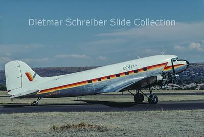 1999-10 ZS-KIV Douglas DC-3C (c/n 33257/16509) Iandela