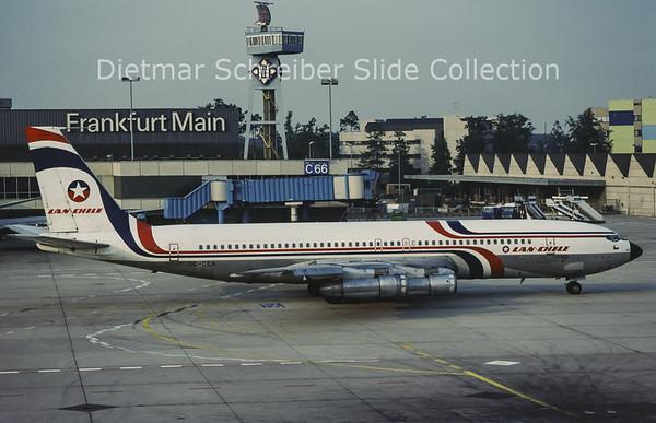 1981-08-29 CC-CEA Boeing 707-330B (c/n 18926) LAN Chile