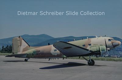 1980-08 N60154 Douglas DC-3C (c/n 32755/16007)