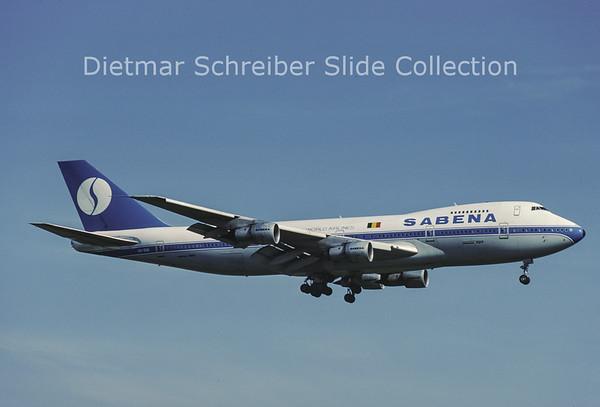 OO-SGA Boeing 747-129A (c/n 20401) Sabena