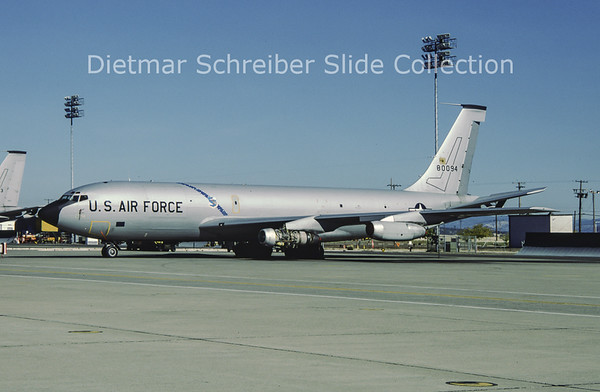 1981-11 58-0094 Boeing KC135A (c/n 17839) United States Air Force