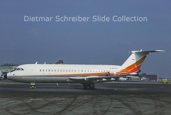 1987-03 G-ASYD BAC 1-11-201AC (c/n 014) British Aerospace