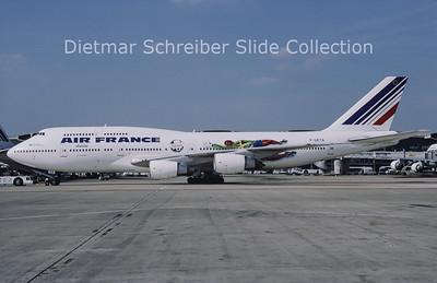 1998-04 F-GETA Boeing 747-3B3 (SCD) (c/n 23413) Air France