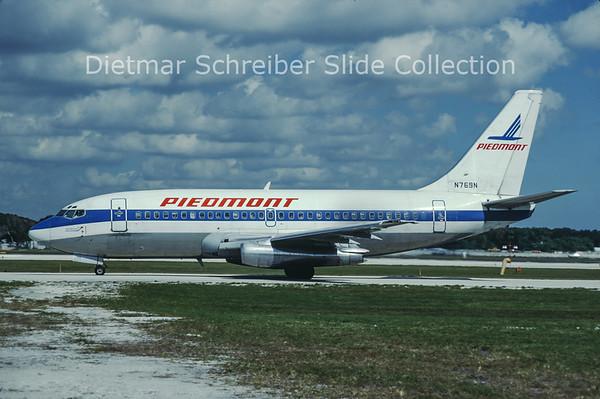 1985-11 N769N Boeing 737-201 (c/n 21816) Piedmont