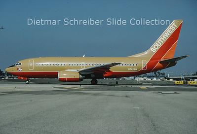 N742SW Boeing 737-7H4 (c/n 29201) Southwest Airlines