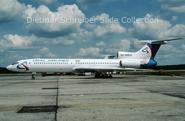 2009-07 RA-85833 Tupolev 154M (c/n 1020) Ural Airlines
