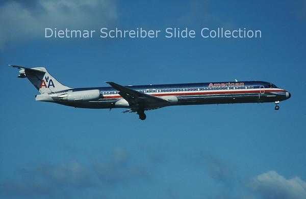 N566AA MDD MD83 (c/n 49348) American Airlines