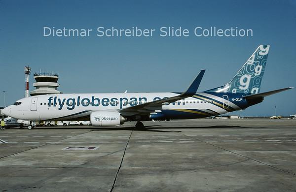 2009-06 G-CEJP Boeing 737-8BK Winglets (c/n 29646) Globespan