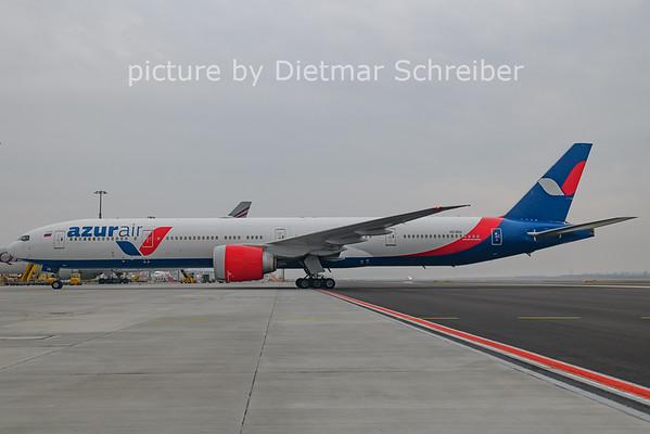 2021-02-19 VQ-BZA Boeing 777-300 Azur Air