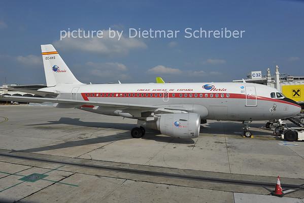 2011-09-28 EC-KKS Airbus A319 Iberia