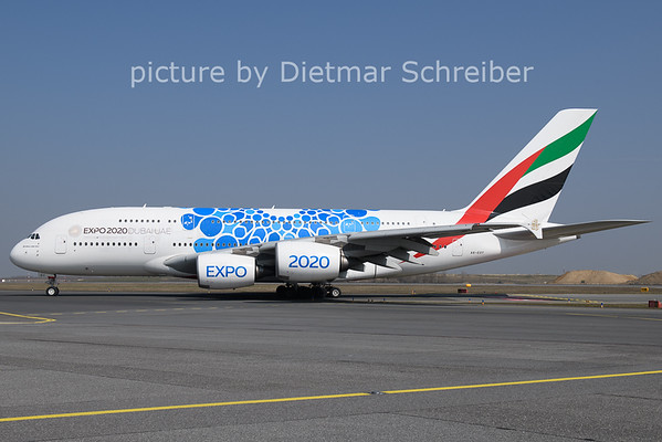 2021-03-25 A6-EOT Airbus A380 Emirates