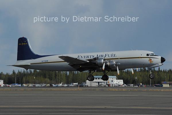 2012-05-17 N7780B Douglas DC6 Everts Air Fuel