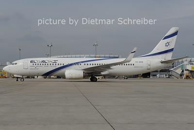 2012-09-30 4X-EKB Boeing 737-800 El AL