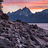 Jackson Lake Dam<br /> Grand Teton National Park, Wyoming