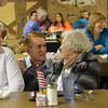 U.S. Rep. James Lankford meeting supporters at the fabulous Daybreak Diner. <br /> <br /> Photographer's Name: Steve  Olafson<br /> Photographer's City and State: Duncan, OK