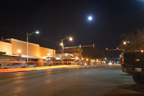 They say the neon lights are bright in ... Duncan? <br /> <br /> Photographer's Name: Steve  Olafson<br /> Photographer's City and State: Duncan, OK