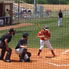 Hunter Phillips draws a walk vs ElReno 5-6-14<br /> <br /> Photographer's Name: Jimmy Phillips<br /> Photographer's City and State: Duncan, OK