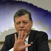 U.S. Rep. Tom Cole with special background effects. <br /> <br /> Photographer's Name: Steve  Olafson<br /> Photographer's City and State: Duncan , OK