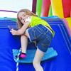 Playing on the obstacle course set up at UC-Duncan for Springfest<br /> <br /> Photographer's Name: Steve Olafson<br /> Photographer's City and State: Duncan, OK