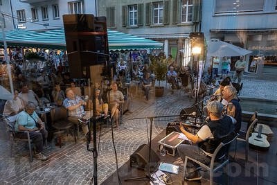 Mittwoch, 19. Juni Konzert im Graben in Olten mit MGM - Didi Meier , Schörä Müller ( Span ) und Phipu Bluedög Gerber © Patrick Lüthy/IMAGOpress